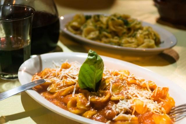 orecchiete dish from puglia