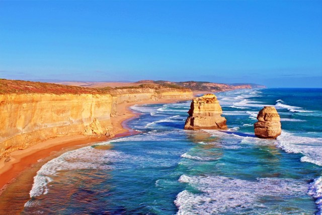 coas cliffs of Australia