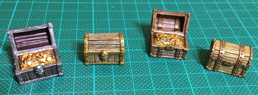 Making Gloomhaven Treasure Chests 2