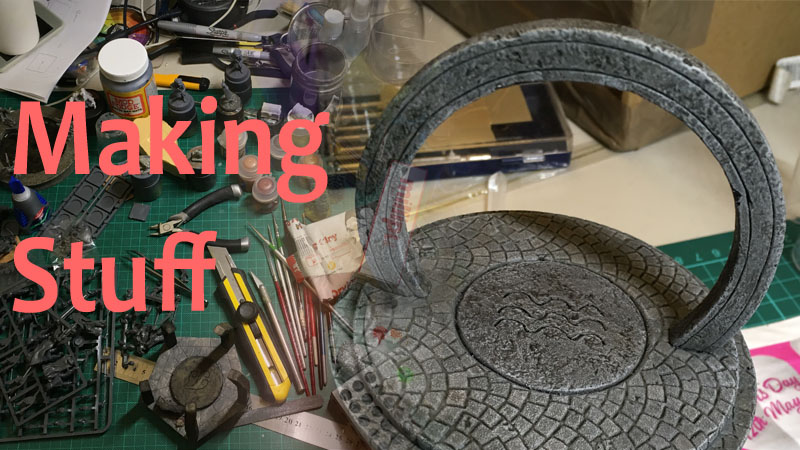 Making Frostgrave Arcane Circles 4
