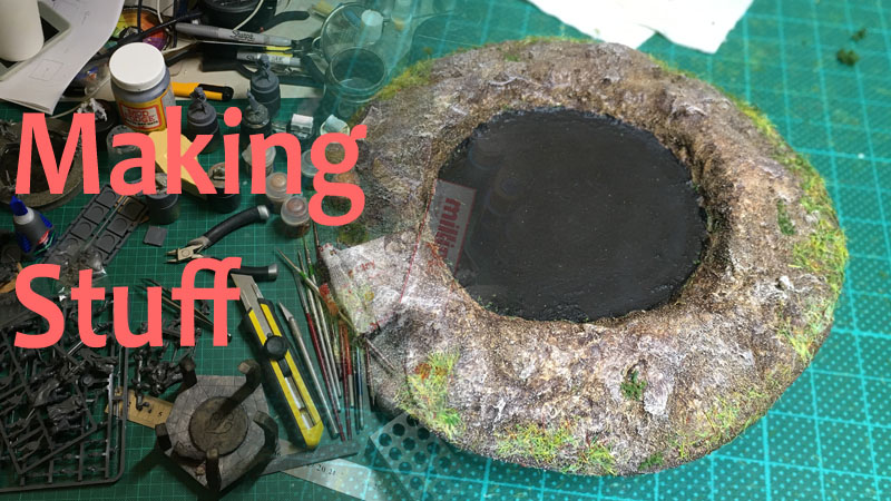 Making Pits and Craters 32