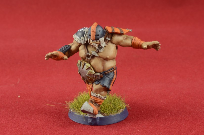 Running Ogre for Bloodbowl