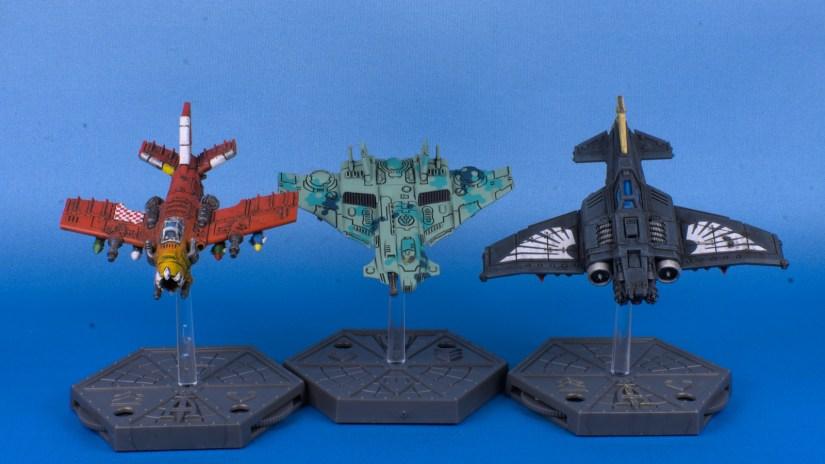 Aeronautica Imperialis Tau Barracudas 7