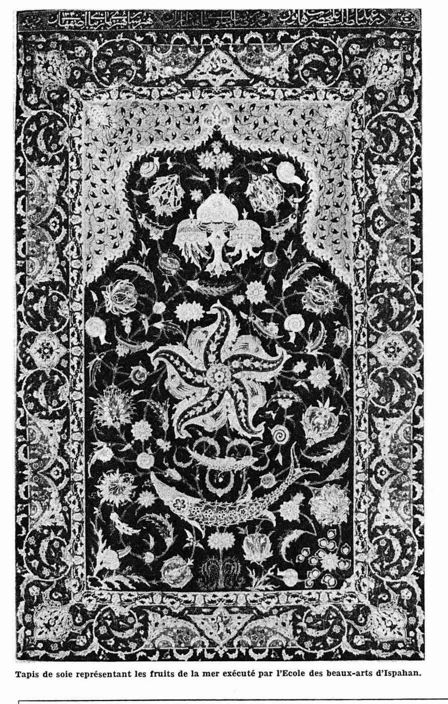 les tapis persans par genevieve