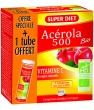Acérola 500 bio + 1 tube OFFERT soit 36 Super Diet