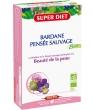 Bardane Pensée Sauvage Bio 20 ampoules 15ml soit Super Diet