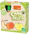 Cool fruits Pommes bio 4 gourdes de Vitabio