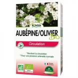 Aubépine Olivier bio 20 ampoules de Biotechnie