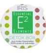 Detox Box Aroma Box Capsules recharges pour diffuseur IRIS aux 25 Huiles Essential Elements