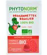 Dragonnettes Bouclier 100% bio Gommes à mâcher Arôme bio de fraise Phytonorm