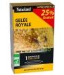 Gelée Royale bio 1500 mg 20 ampoules de Naturland