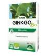 Ginkgo biloba bio 20 ampoules de Biotechnie
