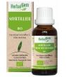 Myrtillier bio Flacon compte gouttes Herbalgem Gemmobase