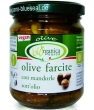 Olives à l'huile farcies à l'ail Biorganica Nuova