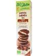 Petits sablés nappés chocolat au lait sans gluten Ma Vie Sans Gluten