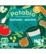 Potabio potage instantané aux Épinards et à la Spiruline Natali