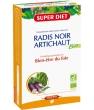 Radis noir Artichaut Bio 20 ampoules de Super Diet