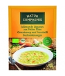 Soupe julienne de légumes aux petites pâtes Natur Compagnie