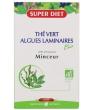 Thé Vert Algues Laminaires Bio Minceur 20 ampoules de 15ml soit Super Diet
