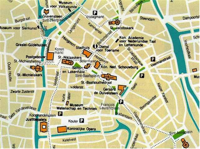 Gent Carte Et Image Satellite