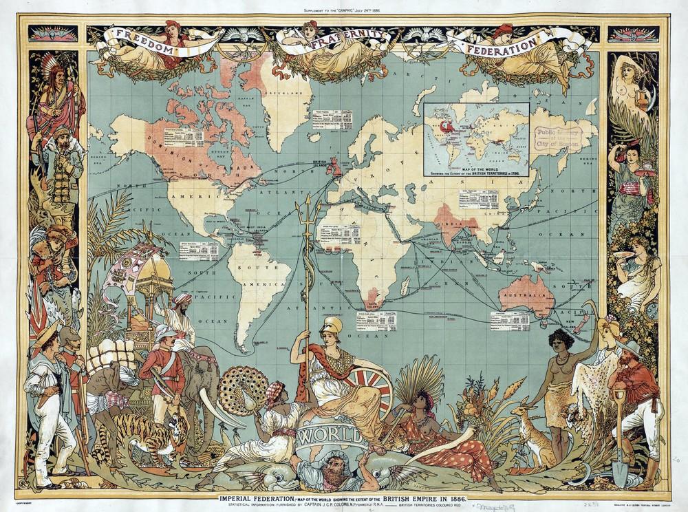Lascension et la chute des nations  Le Monde de Demain