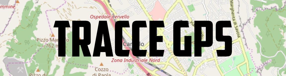LE VIE DI MONDELLO, TRACCE GPS Mondello Bikers