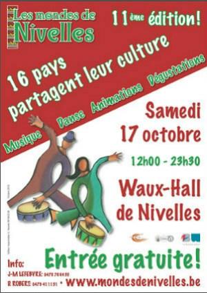 Les mondes de Nivelles 2015 au Waux-Hall