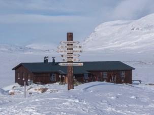 STF-Hütte in Alesjaure