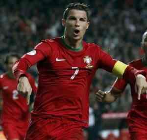 But Ronaldo face à la Suède match retour
