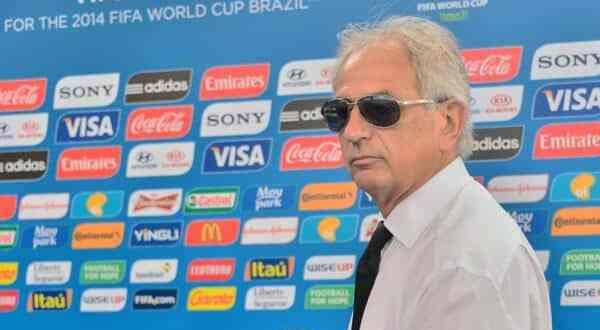 Coach Vahid au tirage au sort du Mondial 2014