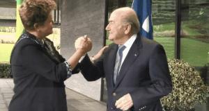 Confiance Blatter-Rousseff Mondial 2014