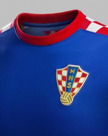 Le maillot extérieur de la Croatie pour la coupe du monde 2014