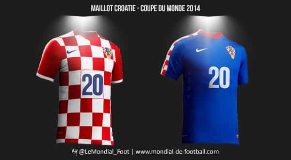 Les maillots de la croatie pour la coupe du monde 2014 - Maillot allemagne coupe du monde 2014 ...