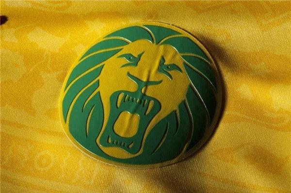 """L'emblème de la sélection camerounaise """"Le Lion Indomptable"""""""