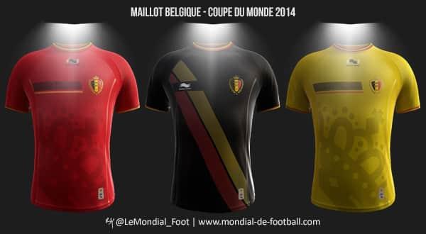 Les maillots de la belgique pour la coupe du monde 2014 - Maillot allemagne coupe du monde 2014 ...