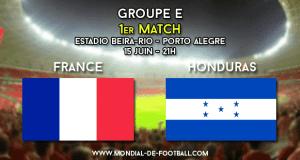 France - Honduras : chiffres clés de l'avant match