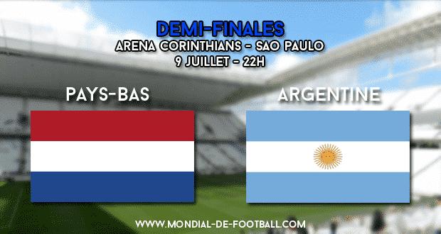 Pays-Bas - Argentine