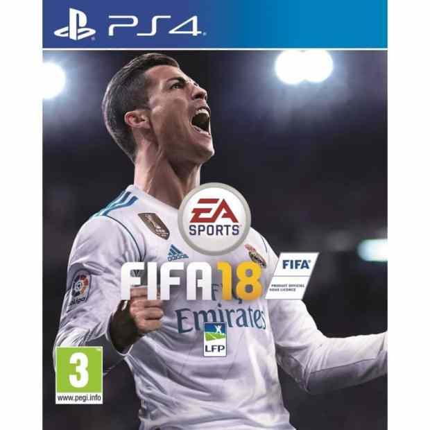 Jaquette de FIFA 18