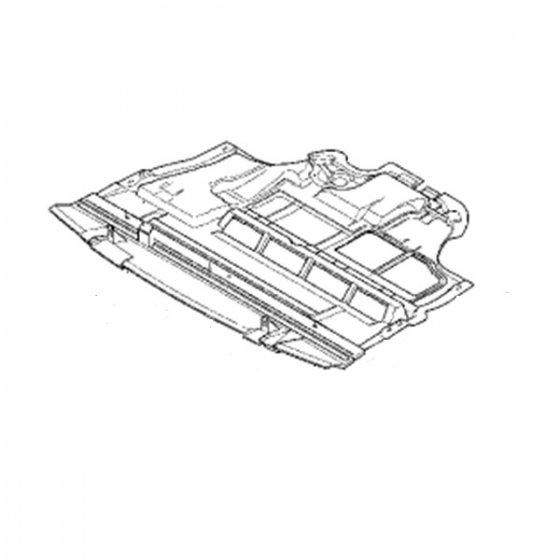 Carrosserie et Cache sous moteur pour Renault Trafic 2 08
