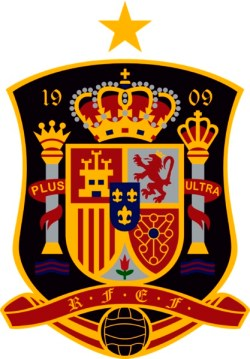 Il logo della nazionale di calcio della Spagna
