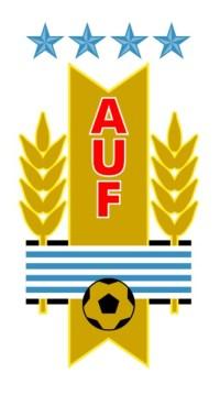 Il logo della nazionale di calcio dell'Uruguay