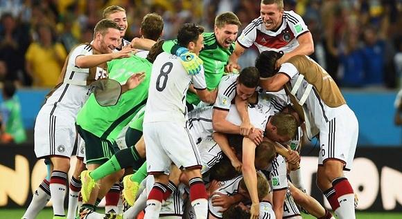 La Germania è campione del mondo