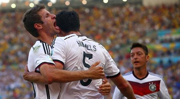 Francia-Germania 0-1, Hummels qualifica i tedeschi