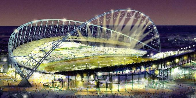 Lo Stadio Khalifa pronto nel 2016 a Doha