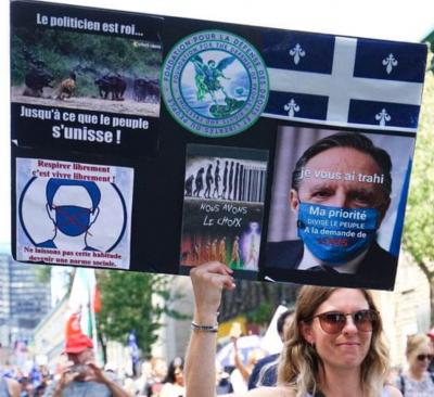 Marche pour la Liberté et la Vérité: «Non à la propagande de la peur»