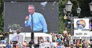 Retour à un discours historique: Robert Francis Kennedy Jr à Berlin le 28 août 2020