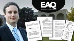 Les avocats Jean-Félix Racicot et Guylaine Lacerte ont déposé une demande en justice au nom des Entrepreneurs en Action du Québec contre le gouvernement de François Legault