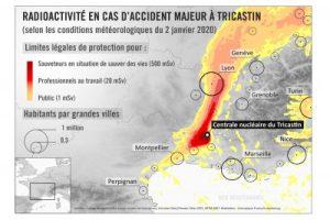 Centrale nucléaire du Tricastin : quels territoires seraient touchés en cas d'accident majeur ?