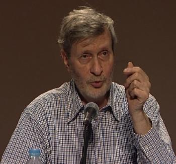 Il Prof. Gianni Vattimo