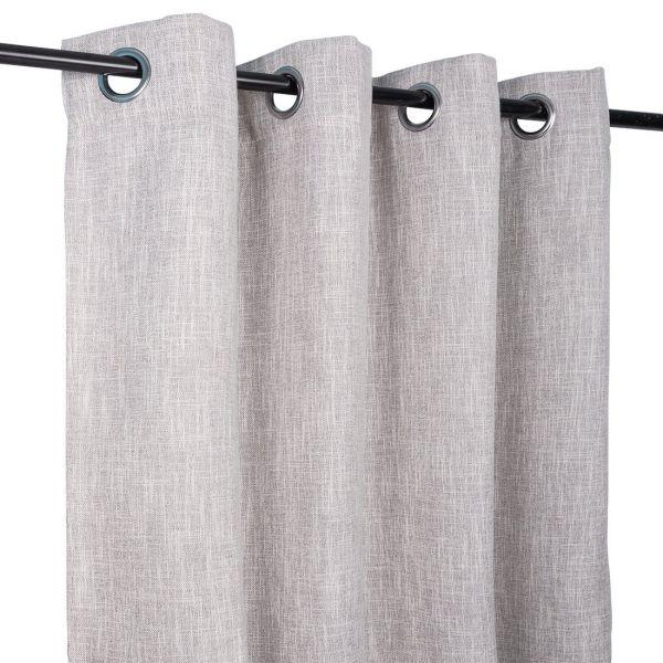 rideau obscurcissant bresil gris clair